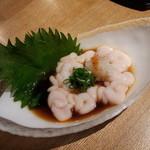 Wasaichuuboukatsura - タラ白子ポン酢 950円