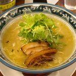 鶏骨スープ 青桐 - にごり塩ラーメン