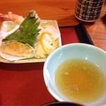 土佐長寿司 - 天ぷら