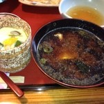 土佐長寿司 - 茶碗蒸しと赤だし