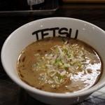 つけめんTETSU - 800えん つけめん(無料麺大盛り300グラム)2013.12