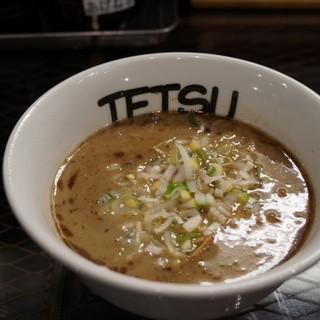つけめんTETSU - 料理写真:800えん つけめん(無料麺大盛り300グラム)2013.12