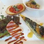 ベリッシモ - 前菜4種盛り