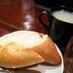 た喜ち - ランチのパン