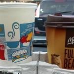 マクドナルド - コーヒーとオレンジジュース