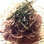 白蔵 - 締めの蕎麦
