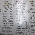 23339189 - メニュー表(^_^.)