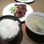 牛たん若 - 牛タン定食 890円