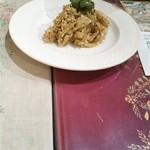 ガラムマサラ - 大根とココナッツのサラダ