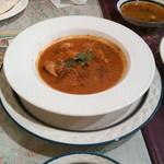 ガラムマサラ - 梅干しチキンカレー
