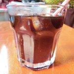 エコ ロロニョン - 【'13/12/24撮影】ローストポーク・ハニマスタードで 890円 のアイスコーヒー