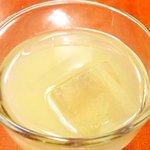 エコ ロロニョン - 【'13/12/24撮影】ローストポーク・ハニマスタードで 890円 のグレープフルーツジュース