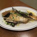オンダ クッチーナ イタリアーナ - 真鯛のオーブン焼(2200円)・・・2013/10
