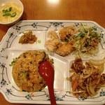 ハルピン - サービス定食(650円)