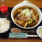 是好日 - ピーカラヌードル(肉増し)