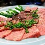 23346455 - 特上ロース肉…柔らかく、ジューシーなお肉でした。