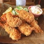 そば処 さか本 - 料理写真:久々 さか本 広島産カキフライ定食 1200円