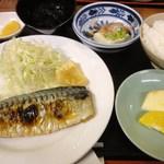 居酒屋 入舟 - 昼定食(焼き魚)