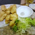 居酒屋 入舟 - 白肉の天ぷら(13.7)