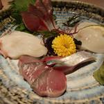 23349452 - 鯖&水蛸の刺身(2013/12)