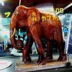 キッチン南海 - 象の置物