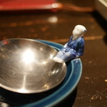 もつ鍋 やましょう - お玉置き