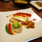 コロニアルガーデン - お魚ランチ