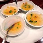 フォー ベト レストラン - Dinner Aコース(パンペオ)海老と米粉の皿蒸し