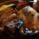 アジアンスープカリー べす - ラムカレー+角煮+べこもちーず