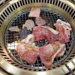 23351809 - 肉は食べきれないほどいただきました