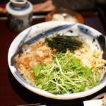 蕎 ふるやま - ぶっかけ1200円