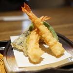 蕎 ふるやま - 天ぷら