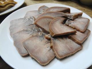 味珍 - 豚のタン 700円?
