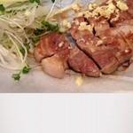玉川 - 豚の生姜焼き!厚いお肉!