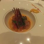 レストランフォレスト - 甘鯛と帆立貝柱、ボタン海老のソテー