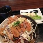 洋食や シェ・ノブ - ビフカツ丼