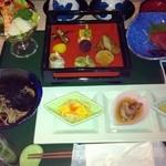 指宿ロイヤルホテル - 料理写真:夕食は保存できるお品ばかり