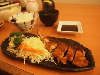 あさひ 尼崎本店 - 大海老定食