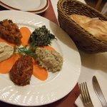 トルコ料理 ANTEP - カルシック ソウク メゼ \1800