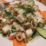 トルコ料理 ANTEP - ペイニルサラダ \800