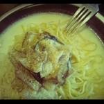 23360048 - 秋ナスと豚バラ肉の生姜クリームソース/2012年10月