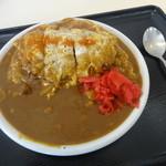 23361678 - 「カツ煮カレー」(950円)大盛り(+100円)