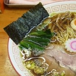 昭和歌謡ショー - 中華そば+煮玉子