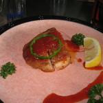 酒膳 虎屋 - 鶏肉のトマトソース
