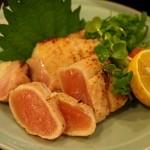 おぶりがーど - 料理写真:赤鶏たたき