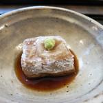 つむぎや - 胡桃豆腐