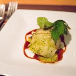 スターロード - 鮑のソテー パセリ風味 ポテトのコンフィと共に