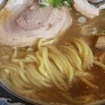 中華そば 中村屋 - 麺はこんな感じ