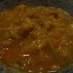 土びん - 雑炊(あんこう鍋)