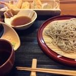 手打そば処 弐八矢 - 天ぷら蕎麦¥1300
